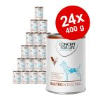 Pachet economic Concept for Life Veterinary Diet 24 x 400 g
